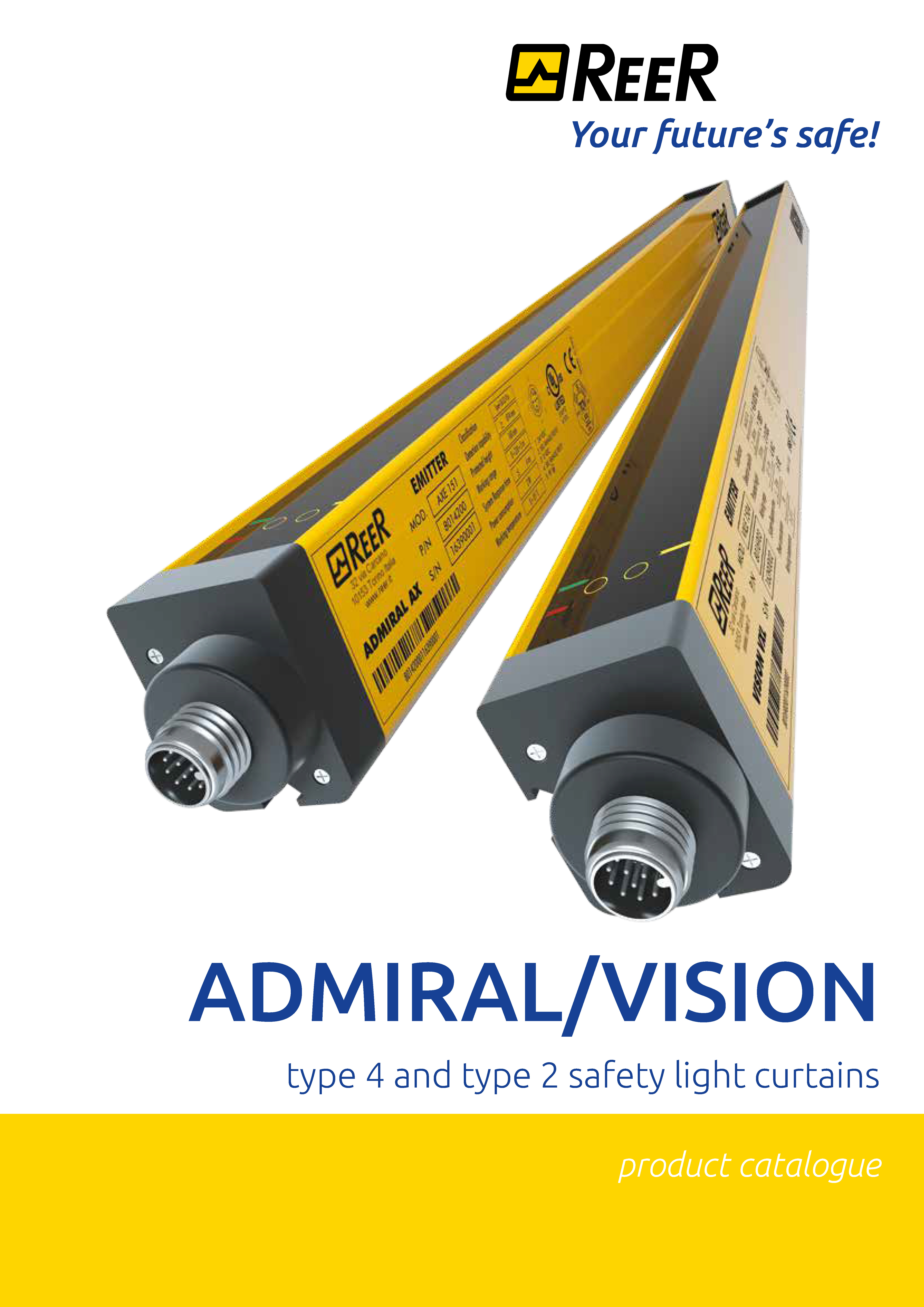 COVER ADMIRAL VISION ENG